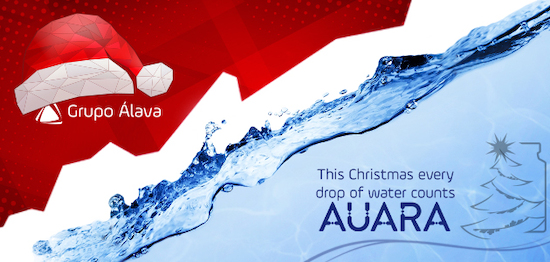 This Christmas Each Drop of Water Counts